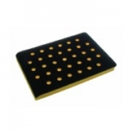 AirVantage 3 x 4 Inch Many Hole Screen Abrasive Back Up Pads