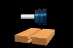 Bosch 84505M Carbide Tipped Reversible Glue-Joint Bit