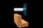 Bosch 84512M Carbide Tipped Drawer Lock Joint Bit
