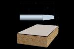 Bosch Solid Carbide Bevel-Trimmer Bits