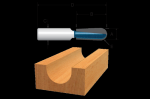 Bosch Carbide Tipped Core Box Bits-Two Flutes