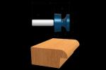 Bosch 85603M Carbide Tipped Door-Lip Bit