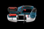 Bosch 18V Lithium Ion Compact Band Saw with L-Boxx3