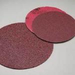 Carborundum 8 Inch Premier Red Plain Coarse Discs Grits 36 - 80