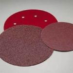 Carborundum 8 Inch Premier Red Hook and Loop Sanding Discs Grits 36-80