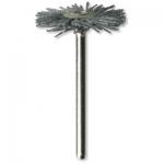 Dremel 538-02 Nylon Abrasive Brush Set of 2 Brushes