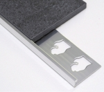 L Channel Transition Trim Aluminum and Anodized Aluminum