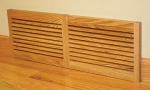 Wood Vent Wall Mount One Directional Vent