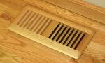 Wood Vent Floor Register Trimline Insert Model