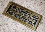 Metal Vent Brass Register