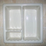 HCP H12RC Large Recessed Shower Niche