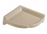 CS88 Large Ceramic Corner Shower Shelf 8 x 8 Nominal