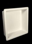 HCP Ceramic Large Recessed Shower Niche H12R Maroon