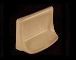 HCP Ceramic Soap Dish 4x6in H46