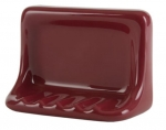 H46 Ceramic Soap Dish for Tile Showers and Baths 4 x 6 Nominal