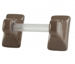 TB24 Ceramic Tile Towel Bar Holder with 24 Inch Bar