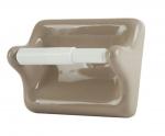 TT46 Ceramic Toilet Tissue Holder for Tiled Walls 5 x 6 Nominal