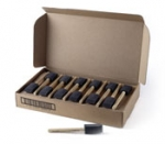 Poly Brush 1 Inch  By Jen Manufacturing 48 Brushes 1 Box
