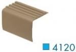 Loxcreen 4120 2 Inch Drop Butt-Type Vinyl Stair Nosing