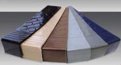 Loxcreen Discus Raised Disc Stair Tread 2 In Drop 12 x 36 ea