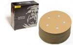 Mirka Gold 5 Inch 5 Hole PSA Vacuum 80 - 400 Grit Sanding Discs