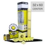 PSC Pro Gen II 32 x 60 Custom Tile Mud Shower Kit - Center Drain