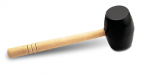 Rubi Black Rubber Hammers for Stone and Tile Laying