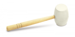 Rubi White Rubber Hammers for Stone and Tile Laying