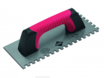 Rubi Finishing Trowels and Jagged Trowels with Closed Rubiflex Handle