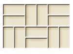 Rubi Tile Texture Mat