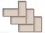 Rubi Diagonal Tile Texture Mat