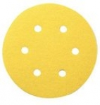Sia 1960 Siarexx Cut Hook Loop Discs 6 Inch 6 Hole Grits 60 - 320