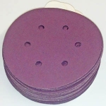 Sia 1950 PSA Tab Discs 6 Inch 6 Hole Coarse Grits 40 and 60