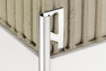 Schluter RONDEC Finishing   Edge Protection Profiles - Solid Brass