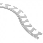 Schluter SCHIENE-RADIUS Curved Tile Edge Protection Profiles