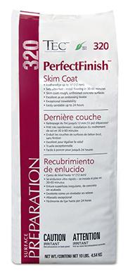 320 PerfectFinish Skim Coat Patch 10 lb bag by Tec
