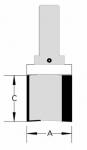 Velepec Template Flush Trim Bits
