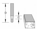 Velepec Solid Carbide Bevel Panel Pilot Bit