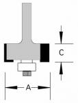 Velepec Multi Depth Rabbeting Bits
