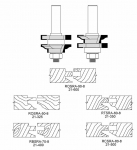 Velepec Reversible Stile and Rail Assembly