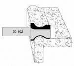 Velepec No Drip Design Countertop Bits