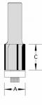 Velepec Four Flute Flush Trim Router Bits