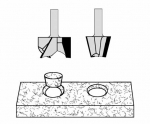 Velepec Plug Cutter Solid Surface Repair Set