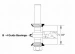 Velepec Corner Round Cooktop Bit Assembly